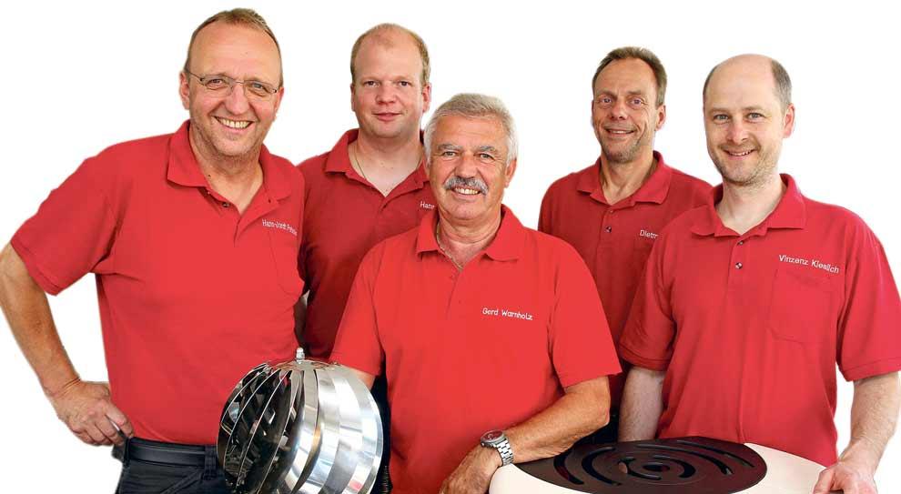 Team Energie und Schornstein